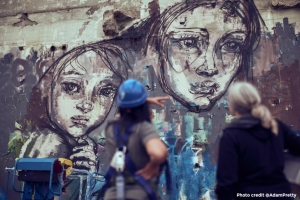Hand Off The Wall Festival – Moving Female Street Artists into the Mainstream