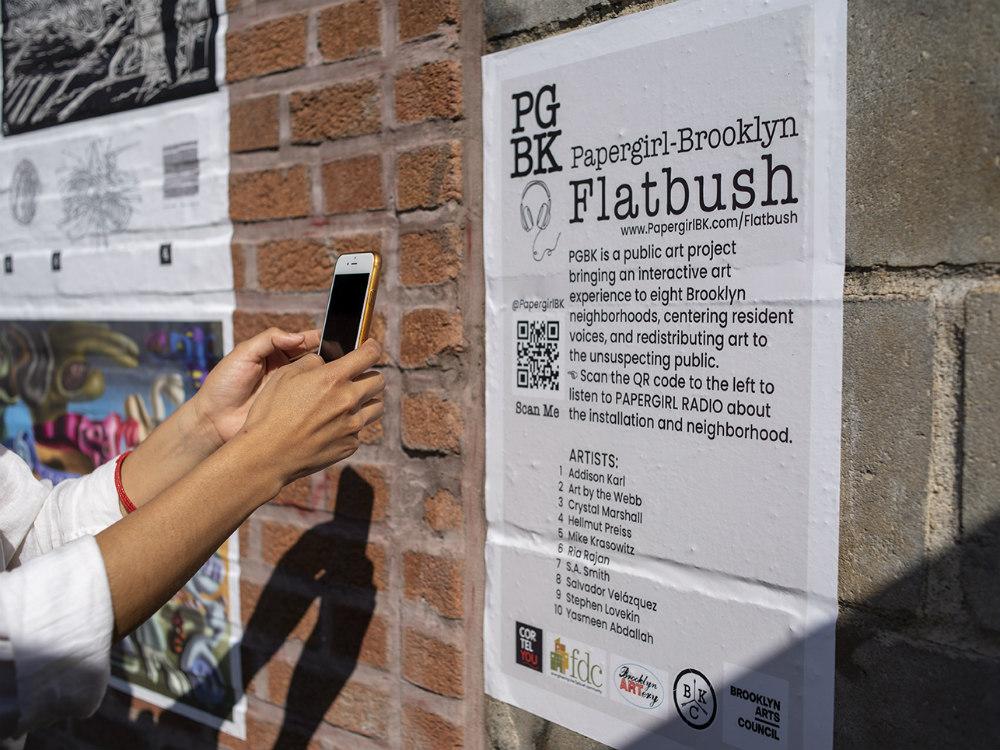 Papergirl-Flatbush-wall