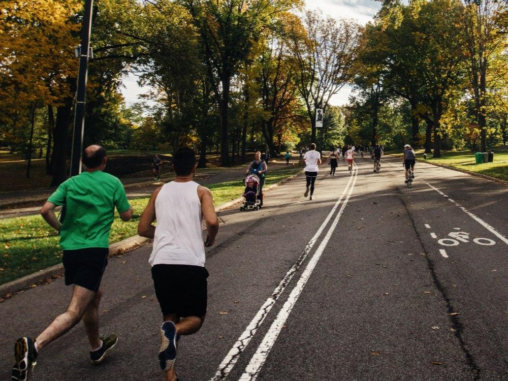 Running-in-cities