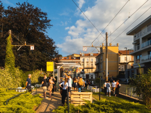 A green strip full of potential. Creatives in Turin reclaim their city