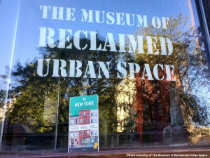 Rethinking museums: The Museum of Reclaimed Urban Space