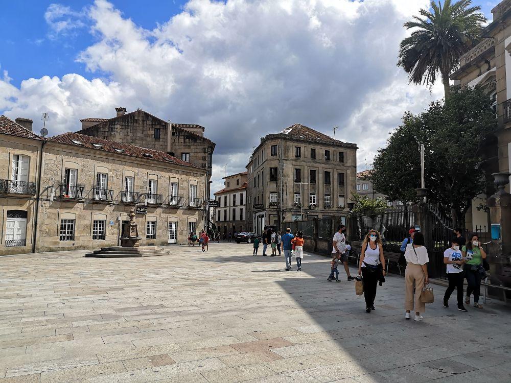 Pedestrian-area-Pontevedra