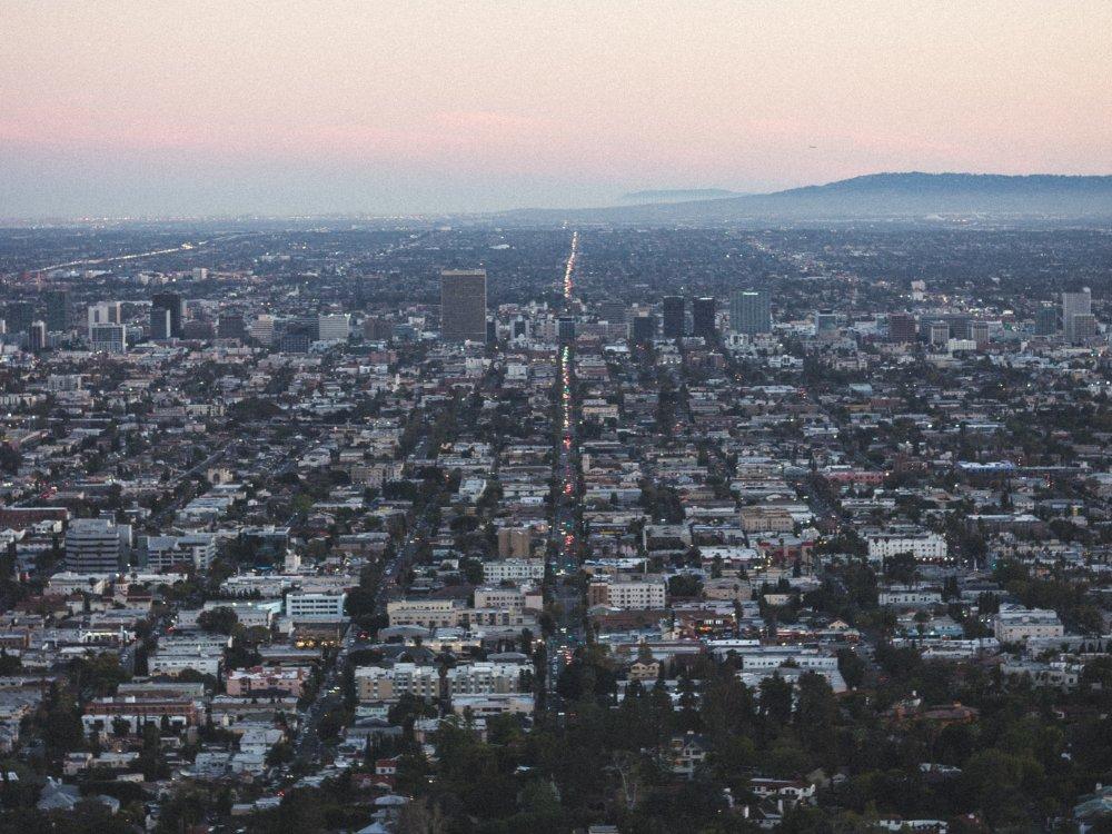 Urban-sprawl-Los-Angeles